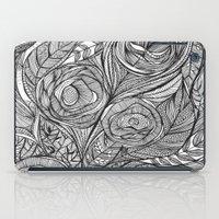 Garden of fine lines iPad Case