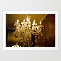 Golden Light::charleston Art Print