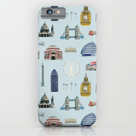 All of London's Landmarks  iPhone & iPod Case