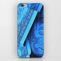 Four Crisp Dollar Bills iPhone & iPod Skin