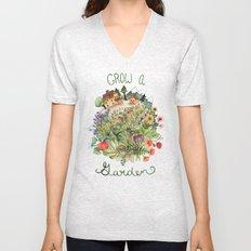 Grow A Garden Unisex V-Neck