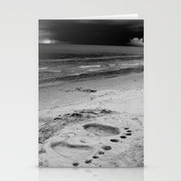 Barefoot Beach Stationery Cards