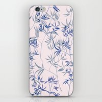 exotic blue iPhone & iPod Skin