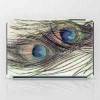 Peacock Feathers II iPad Case