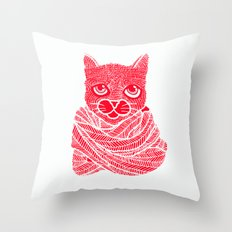 It's a Cat-Wrap Throw Pillow
