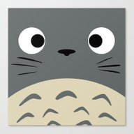 Curiously Troll ~ My Nei… Canvas Print