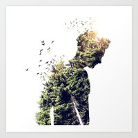 Nature Of The Body Art Print