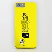 iPhone & iPod Case featuring do small things with great love by Gal Ashkenazi
