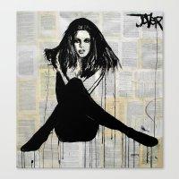 la femme Canvas Print
