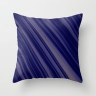 Blue Lines Soft Pattern Throw Pillow