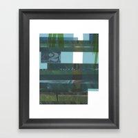 Lawn Study 4 Framed Art Print