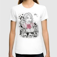 Odi Et Amo Womens Fitted Tee White SMALL
