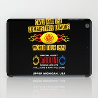 Cave & The Combustible L… iPad Case
