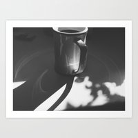 Light cirles Art Print