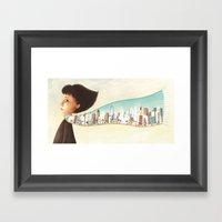 Back Home Framed Art Print