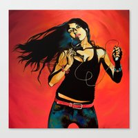 Feel Like Dancing Canvas Print