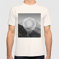Montain Mark Mens Fitted Tee Natural SMALL