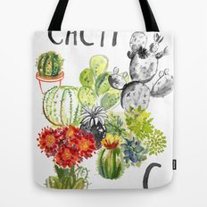 C is for Cacti Tote Bag