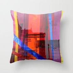 Distortion 3 Throw Pillow
