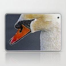 Fractalius Swan Laptop & iPad Skin