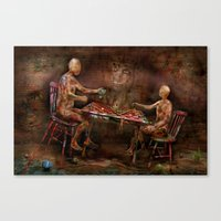 its time to play Canvas Print