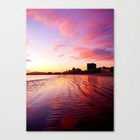 Sherbet Skies Canvas Print