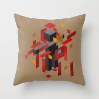 Iron Man Assembled Throw Pillow