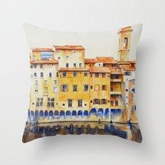 Vintage Florence Throw Pillow
