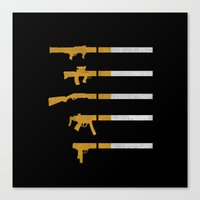 Lung Bullets Canvas Print