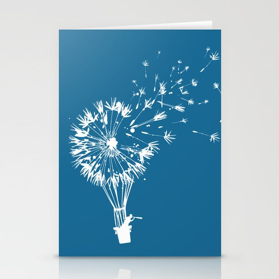 Going where the wind blows Stationery Card
