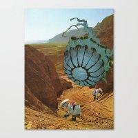 Terraformed Mars, 2575 A… Canvas Print