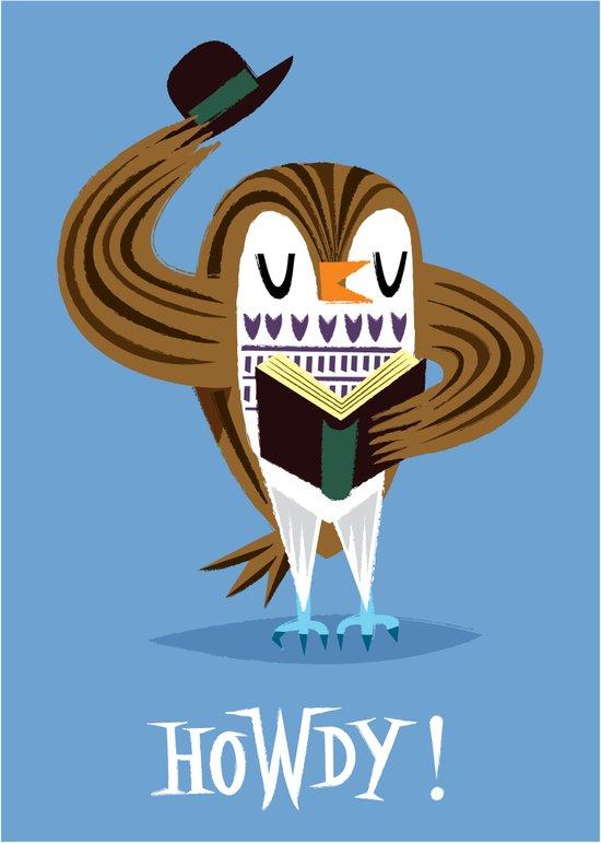 The Howdy Owl Canvas Print