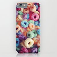 iPhone & iPod Case featuring Froot Loops by Mel (freshfacedandfearless)