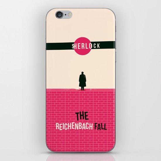 Sherlock S02E03: The Reichenbach Fall iPhone & iPod Skin by Risa Rodil | Society6