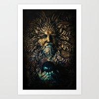 The Stone Sorcerer Art Print