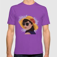 Verão Mens Fitted Tee Ultraviolet SMALL