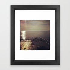 Float on. Framed Art Print