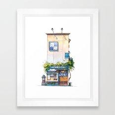 Tokyo storefront #10 Framed Art Print
