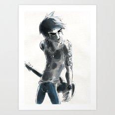 Punkboy Art Print