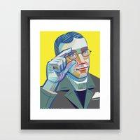 George Veditz's Portrait Framed Art Print