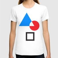 minimi Womens Fitted Tee White SMALL