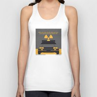 No183 My Back to the Future minimal movie poster Unisex Tank Top