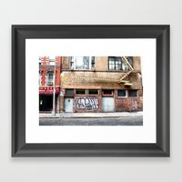Chelsea, NYC Framed Art Print