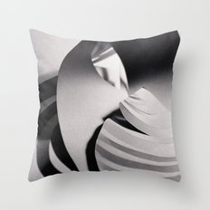 Paper Sculpture #6 Throw Pillow