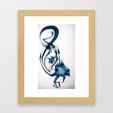 8ight Framed Art Print