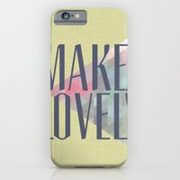 iPhone & iPod Case featuring Make Lovely // Leaf by Magpie Paper Works