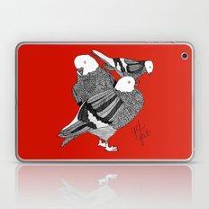 Red Pigeons Get Fat Laptop & iPad Skin