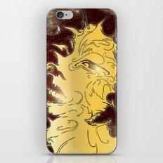girl in the galaxy iPhone & iPod Skin
