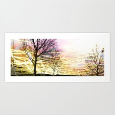Unexplored Avenues by Debbie Porter - Plain Set Art Print