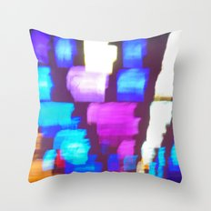 Finger (Glass) Painting Throw Pillow